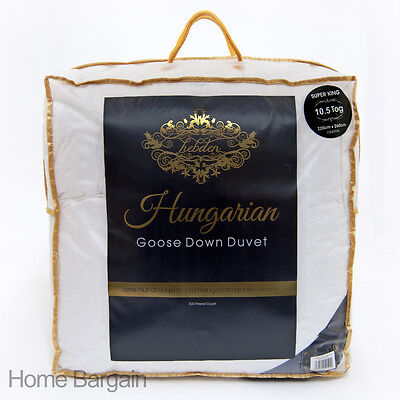 100% Pure Hungarian Goose Down Duvet / Quilt