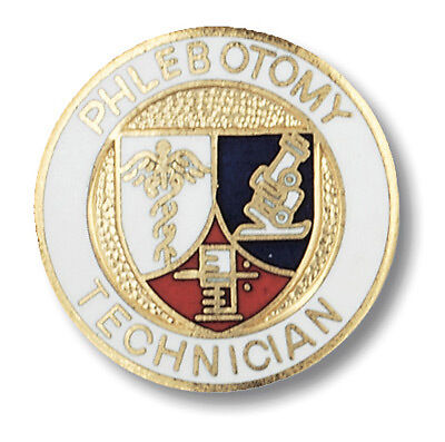 Phlebotomy Technician Pin  1 ea