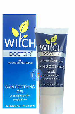 WITCH DOCTOR SKIN SOOTHING GEL WITH WITCH HAZEL EXTRACT 35ml