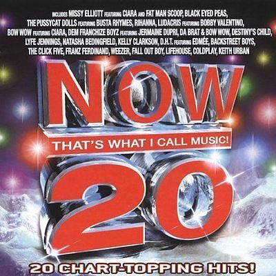Various Artists : Now Thats What I Call Music! 20 CD