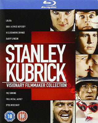 Stanley Kubrick: Visionary Filmmaker Collection NEW Arthouse Blu-Ray 8-Disc Set