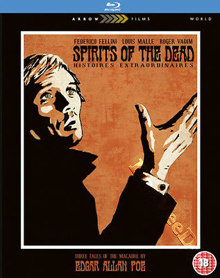 Spirits Of The Dead NEW Blu-Ray Disc Fellini Malle Vadim