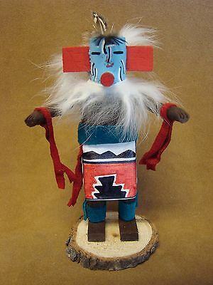 Navajo Indian Hand Carved Kachina Dancer by S. Begay