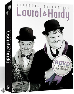 Laurel & Hardy Collection NEW PAL Classic 6-DVD Set Stan Laurel Oliver Hardy