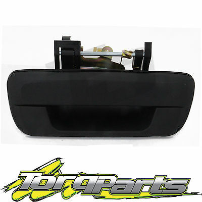Suit Holden Ra Rodeo Ute 2003-2006 Tail Gate Handle Black No Key Hole