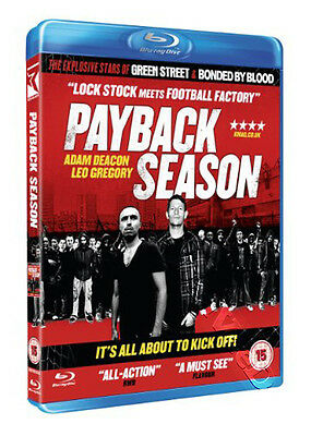Payback Season NEW Cult Blu-Ray Disc Danny Donnelly Adam Deacon Leo Gregory