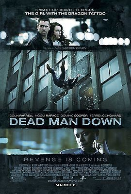 DEAD MAN DOWN - Movie Poster - Flyer - 11 X 17 - COLIN FARRELL