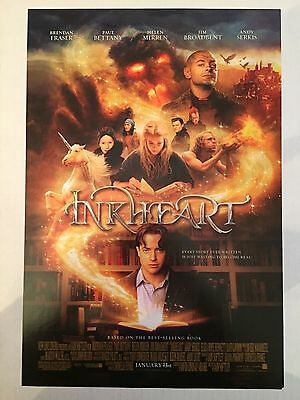 INKHEART 11.5x17 PROMO MOVIE POSTER