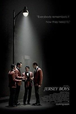 JERSEY BOYS Movie Poster - Original - DS - 27x40 - CLINT EASTWOOD