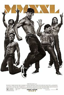 MAGIC MIKE XXL Movie Poster - Original - DS - 27x40 - FINAL - CHANNING TATUM