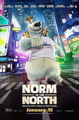 NORM OF THE NORTH Movie Poster - Original - DS - 27x40 - FINAL - KEN JEONG