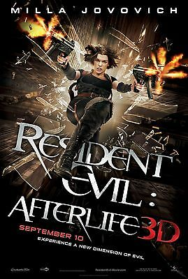 RESIDENT EVIL: AFTERLIFE - Movie Poster Flyer - 11X17 - MILLA JOVOVICH