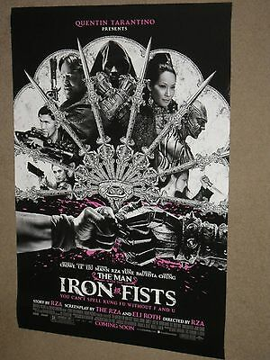 THE MAN WITH THE IRON FISTS - Movie Poster - Flyer (A) - 11x17 - RUSSELL CROWE