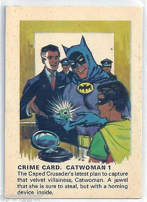 1966 Batman Weeties & Rice Krinkles Catwoman 1