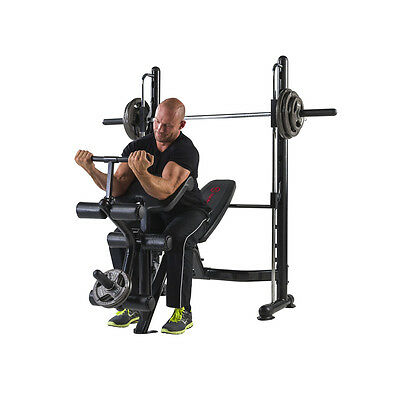 banc musculation rack multifonction station squat traction halt res eur picclick fr. Black Bedroom Furniture Sets. Home Design Ideas