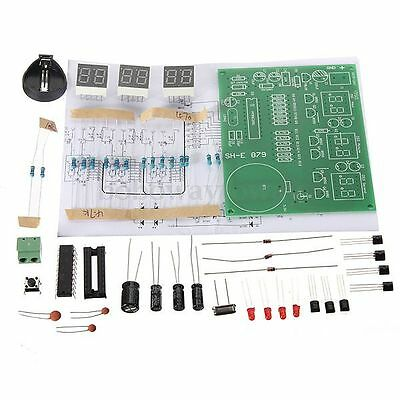 9V-12V Elektronischer Taktgeber 6 Stellige Module AT89C2051 Digital LED DIY Kits