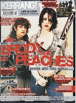 Kerrang 993 Brody & Peaches Hundred Reasons Valerie The Icarus Line