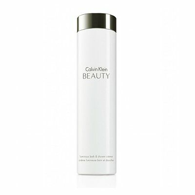 NEW Calvin Klein Beauty Luminous Bath and Shower Creme 200ml, Boxed + Free P&P