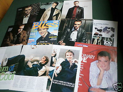 Joe Absolom - Tv Actor  - Clippings /cuttings Pack