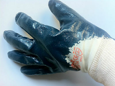 12 x UVEX Safety Gloves. NB27156. GERMAN MADE.
