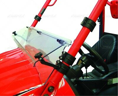 Front DIRECTION 2 Half Folding Windshield  Part# TERYXWS1001