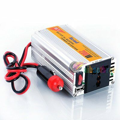 Meind 200W Power inverter DC 12V to AC 220V invertor Multi-fuction 400VA USB【AU】