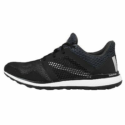 Adidas Energy Bounce 2 M II Black White Mens Running Shoes Sneakers AQ2965