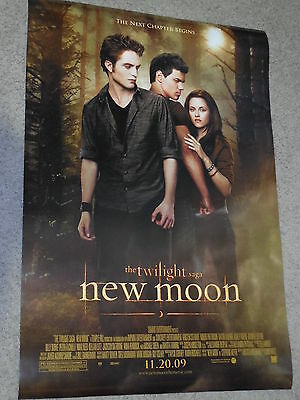TWILIGHT NEW MOON Movie Poster - Original - DS - 27x40 - FINAL - KRISTEN STEWART