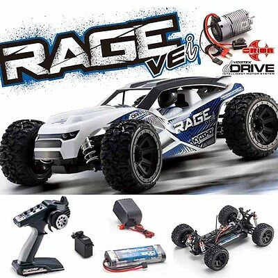 Kyosho 34353 RAGE VEi 1/10 4WD Buggy RS RTR w/ Radio / dDRIVE / Battery /Charger