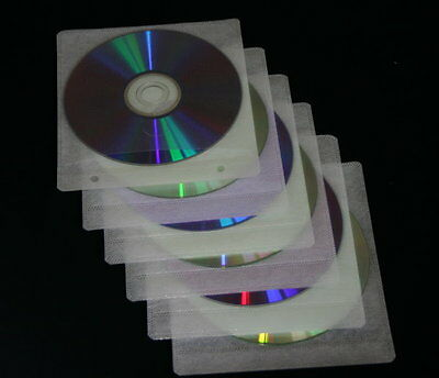500 CD/DVD/Blu-ray BD Ring book double covers white