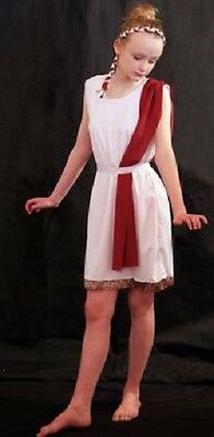World Book Day-Ancient Egypt-Rome-Greece-GREEK 1 COSTUME Larger Child Sizes