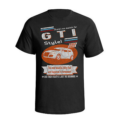 Volkswagen Golf mk5 GTI VW 2003 Retro Style Mens Car T-Shirt