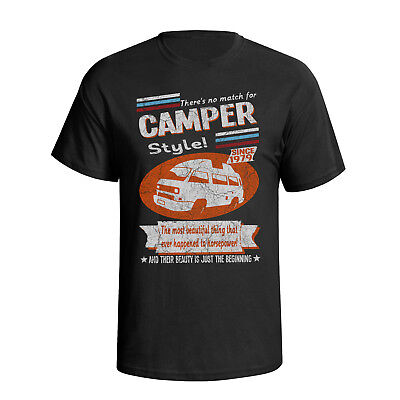 Volkswagen camper Type 25 High Top 1979 Retro Style Mens Car T-Shirt