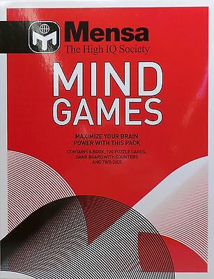 Mensa Mind Games Bundle Pack to Maximise your Brain Power!