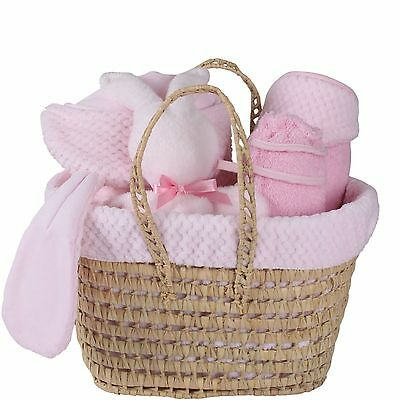 Clair De Lune Polly Gift Set Honeycomb Pink Perfect Gift Idea For Baby Shower