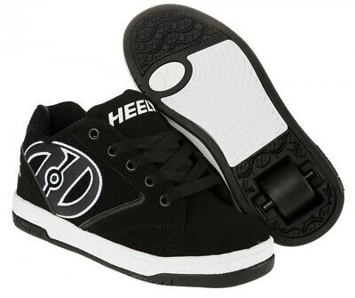 Heelys Propel 2.0 - Black /White Roller Skating Shoes Kids and Adult Size