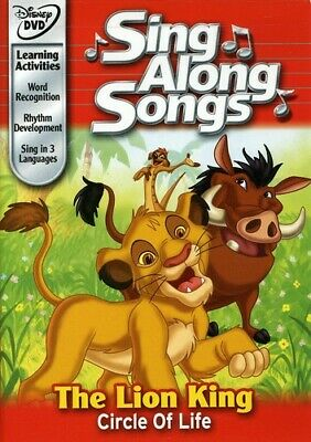 Disneys Sing Along Songs - The Lion King DVD