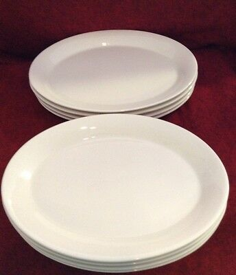 Shenango China Set Of 8 Oval Plates