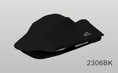BLACK Seadoo Bombardier PWC GT,GTS GTX,GTI Jet Ski Trailerable Cover Black/Grey