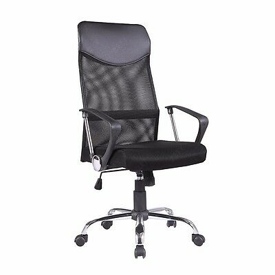 Ergonomic Mesh Executive Swivel Computer Desk Office Chair Black with High Back