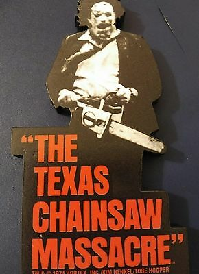 Texas Chainsaw Massacre Funky Chunky Refrigerator Magnet Leatherface (B&w)