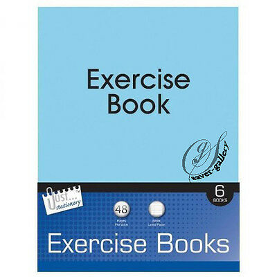 Just Stationery A5 48 Page Exercise Books -2481