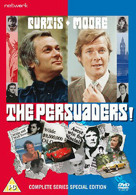 The Persuaders! - Complete Series NEW PAL Cult 9-DVD Set Tony Curtis Roger Moore