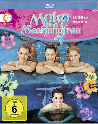 Mako Mermaids - Season 1 (Ep. 14-26) NEW Cult Blu-Ray 2-Disc Set Australia