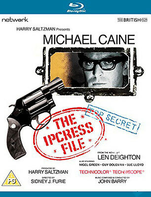 The Ipcress File NEW Classic Blu-Ray Disc S. J. Furie Michael Caine Nigel Green