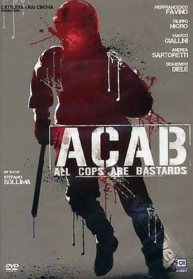 ACAB: All Cops Are Bastards NEW PAL Cult DVD Stefano Sollima P. Favino Italy