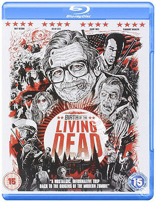 Birth of the Living Dead NEW Documentary Blu-Ray Disc Rob Kuhns George A. Romero