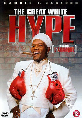 The Great White Hype NEW PAL Cult DVD Samuel L. Jackson
