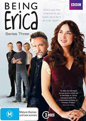 Being Erica - Series 3 NEW PAL Cult 3-DVD Set Erin Karpluk Adam Fergus