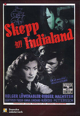 A Ship Bound for India NEW PAL Classic DVD I. Bergman
